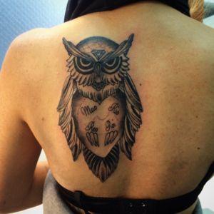 #tattoo #tattoos #neotrad #neotraditattoo #neotraditional #art #tattooartist #tattoo2me #tattoo_of_the_day #tattoo_art_worldwide #tattoo4life #tattoo_worldwide_online #tattoonagoya #TATTOOOWL #coruja #tattooartists #nagoya