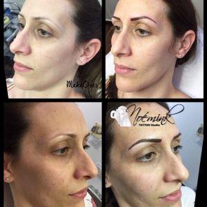 Eyebrow tattoo #eyebrowtattoo #eyebrow #softpowder #realisticeyebrow