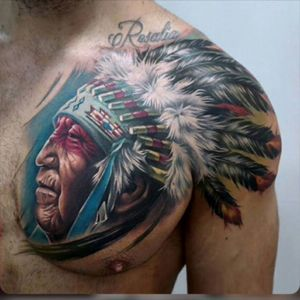 The indian #megandreamtattoo