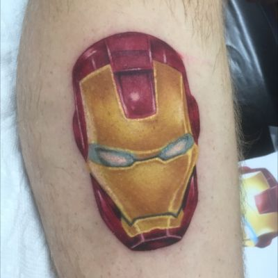 Do this cool ironman piece today. Done at Delta 9 Tattoo Company by Brent Dwayne McGinnis(me) #iron #ironman #marvel #MarvelTattoo #marvelcomics #tonystark #ironmantattoo #tattoo #ink #legtattoo #geek #geeky #nerd #superhero #indianapolis #delta9