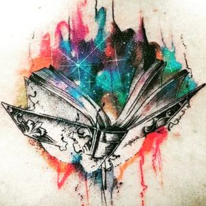 Something to this, for my love of books. I have lived a thousand lives through books. #megandreamtattoo