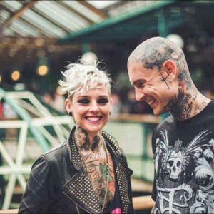 #tattooedcouples #tattoos #bigtattoos #tattoosofinstagram