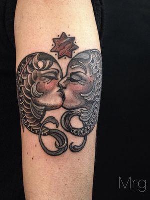 #french kiss fishes -duality #mrg#morg#morgarmeni #poiseline