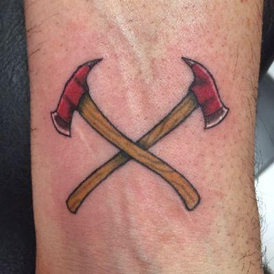 #color #axe #fireman #firefighter #nyfd