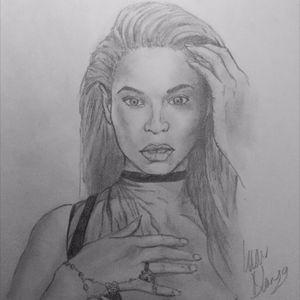 Beyonce #portrait #famous