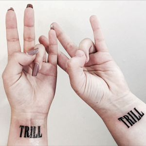 Matching bestfriend tattoos