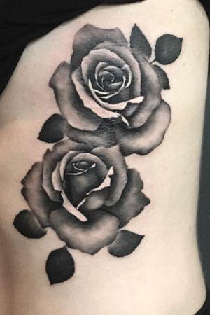 Done by Bertina Rens - Resident Artist. #tat #tatt #tattoo #tattoos #amazingtattoo #ink #inked #inklovers #inkart #flower #flowers #rose #roses #rosestattoo #inkedup #blackandgreytattoo #blackandgreytattoos #tattoolovers #inklovers #art #culemborg #netherlands