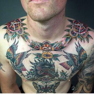 Tattoo by Cloak and Dagger Tattoo London