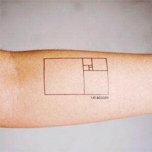 #nerd #fibonacci #geometric #fineline #squares #forearm #math #mathematics