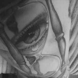 #hourglasstattoo #cryinghourglass #tattoo #bicep #sleeve