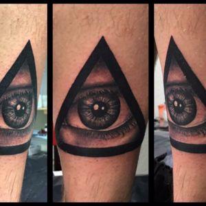 #illuminati #illuminatitattoo #realisticeye #eyetattoo #bngtattoo #bnginksociety