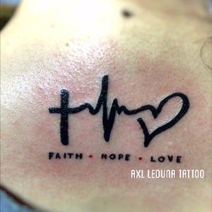 Small Piece Tattoo. (Faith, Hope and Love) #newbietattooartist #cebutattooartist #ph #instadaily #igdaily #instadaily #skinart #tattoo #art #filipinotattooartist #axlledunatattoo #Tattoodo
