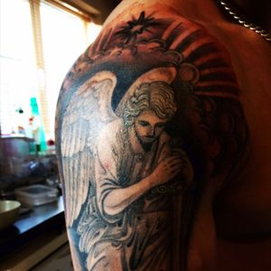 Work in progress.Looks nice already #tattoo #allstarink #allstar #rossnagle #limerick #ireland #lovinit #cool