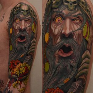 Finished this today! Thanks Ludvig! #tattoo #druid