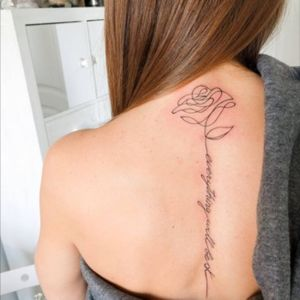 "Inscription Tattoo ""Everything will be OK"" #rosetattoo # minitattoo #minimalismtattoo #smalltattoo #smaltattoos #tinytattoo #tinytattoos #minimalism #tattoo #tattoogirls #tattoographic #linework #lineworktattoo #Fineline #finelinetattoo #fineLineTattoos #alisovatattoo #AlisaAlisova"