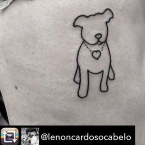 #furbaby #dog #heart #ribs #lines #lenoncardosocabelo @lenoncardosocabelo #puppy
