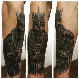 Death king #mexico #tattoo #skulltattoo #king #mexicantattoo #VivaMexico