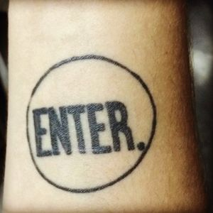 #ENTER #tattoo #musica