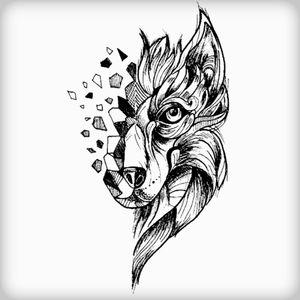 #wolftattoo #InkTattoo