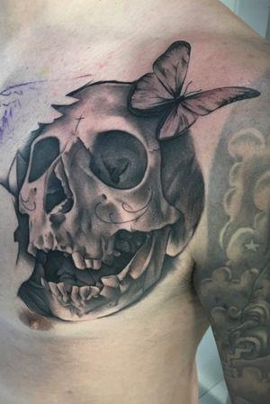 Love doing skulls!!