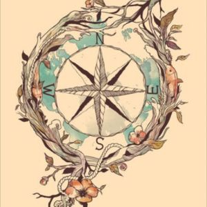 A compass tattoo is next in my list. No matter where i wander, I'll always find my way home. #amijames #dreamtattoo
