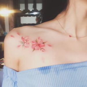 My #originaldesign #floraltattoo