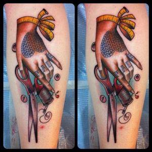 Crafty hand