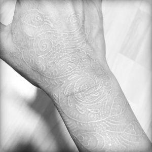 My second tattoo done on 27 Jul 2016 #whitelines #pheonixtattoo by #alanQ @thenakedskintattoo