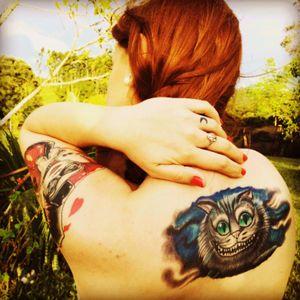 #nature #tattoo #cheshirecattattoo #harleyquinn #moon #mybody #myworld