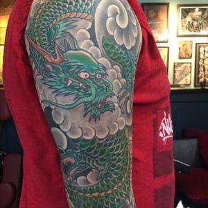 #dragon #tattoosbyrodrigocanteras #lovehatenewyork