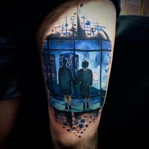 By Turco tattooist 🇮🇪🇧🇷 #turcotattooist #EdsonTurco #turcotattoostudio #turcotattoos #fightclub #fightclubtattoo #fullcolor