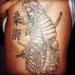 Tha samurai #samuraitattoo #japan #japanese #jujitsu