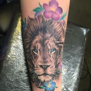 #freshink #liontattoo