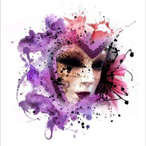 #mask #watercolor #megandreamtattoo