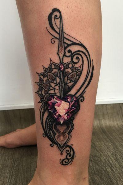 Girls gotta love jewels!!💎 #thescientist #travellingtattooist #ornamentaltattoo #jeweltattoo #gemtattoo #rose #jewel #ornamental #ornate #blackwork #dotwork #realism #hennism #floraltattoo #tattoodo #tattoodoapp #tattoo #ink #inkedgirls #tattooedgirls #tattoooftheday #amazingtattoos #tatouage #tatuaje #tatuagem #ryansmithtattooist #tattooartist