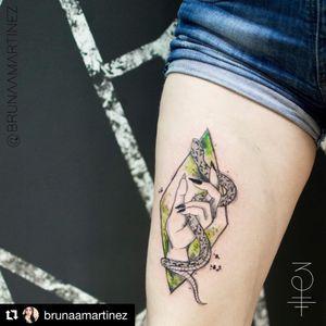 Autoral. #tattoo #watercolor #sketch