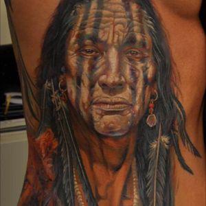 Native American warpaint, sooooooooo detailed!!