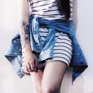 #roses #female #flowers #tattoo