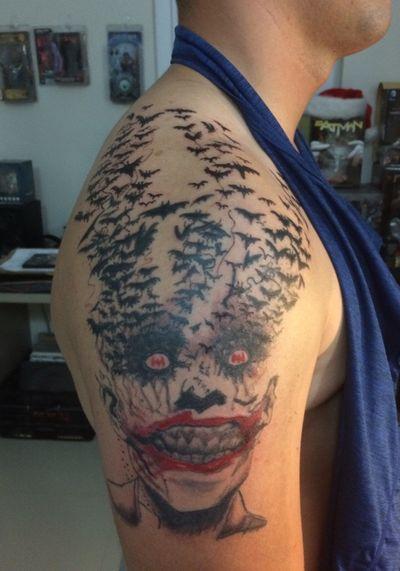 #dc #Joker #jokertattoo