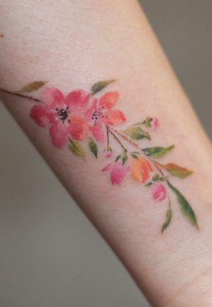 #cherryblossom #flower #watercolor