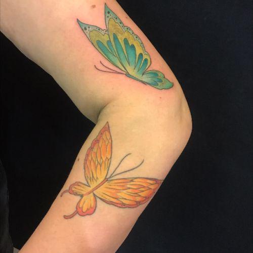 Butterfly#inked #inkvaders #tattoo #geneva #switzerland #girltattoo #inkedgirl