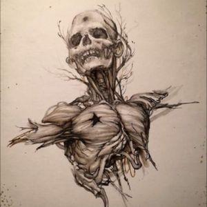 #zombietattoo #skul #death