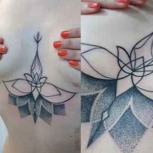 Ornamental underboobs Tattoo by Simona Petrux Simona.petrux@gmail.com nstagram. SIMONA.PETRUX fb. Simona Petrux Tattoo Sweet Mamba Tattoo ROMA #simonapetrux #tattoo #tatuaggio #ink #black #dotwork #lotoflower #dotworktattoo #underboobs #ornamental #ornamentaltattoo #mandalatattoo #mandala #picture #simonapetrux #sjmonapetrux #best_italian_tattooers #italian_blackworkers #blxckink #onlyblackart #btattooing #ladytattooers #blackdot
