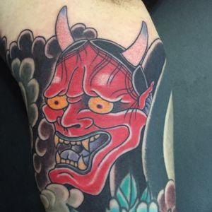 #hannya #tattoosbyrodrigocanteras