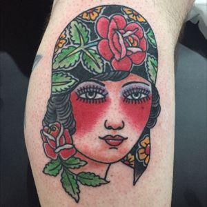 Gypsy Head. #MorgwnPennypacker