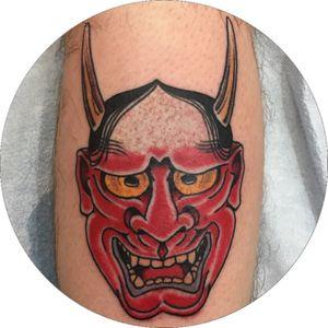 #hannya #tattoosbyrodrigocanteras #lovehatenewyork