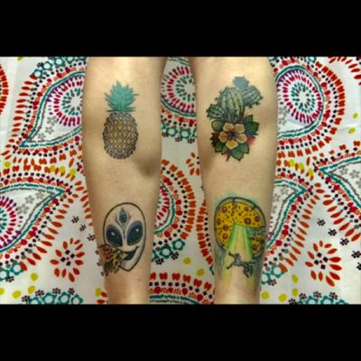 #symmetry is my favorite. #pineapple #cactus #alien #pizza #abduction