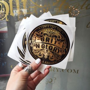 Grit N Glory, Sticker Design.