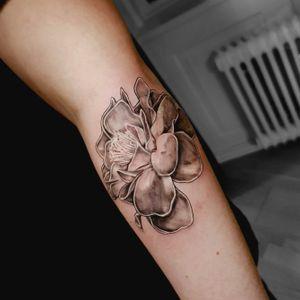 #softflower #soft #flowertattoo #tattoooftheday