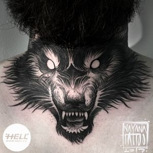 Dark wolf #DarkArt  #blackwork #blackandgrey #IllustrativeTattoo #dotwork #graphictattoo #blackworkers #followme #tattooartist #czechtattoo #hellcz #nayanatattoo #ilovemywork #welove Follow my work on fb / insta / tattoodo 👉@nayanatattoo Better and larger pictures are on my facebook! 😉 #unseenarts #tattoooftheday